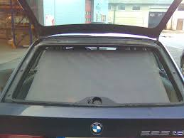 photo request touring liftgate tailgate sun shade roller blind