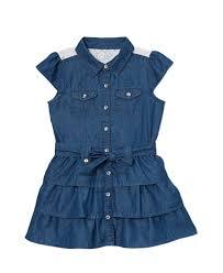 baby toddler dollhouse sleeveless denim dress toddler