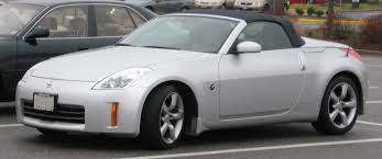 nissan 350z custom file nissan 350z convertible jpg wikimedia commons