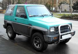 daihatsu jeep daihatsu feroza 2499116