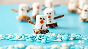 snowman marshmallows marshmallow snowmen