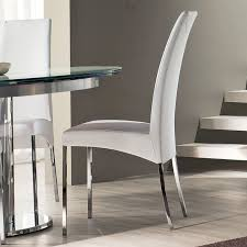 Leather Dining Room Chairs Design Ideas Contemporary White Dining Chairs Design Ideas With Regard To