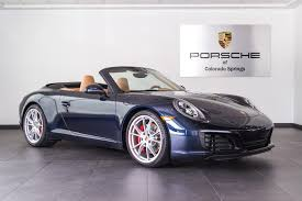 porsche 911 convertible 2005 2017 porsche 911 carrera s for sale in colorado springs co 17034