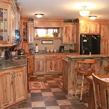 knotty hickory cabinets kitchen rustic hickory kitchen cabinets pictures kitchen cabinets