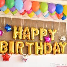 helium birthday balloons 16inch gold letter aluminum foil balloons helium ballon