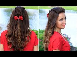 diy woven faux hawk cute girls hairstyles makeup videos