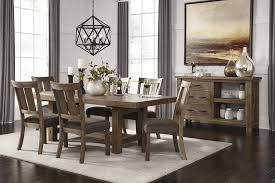 Casual Dining Room Sets Casual Dining Room Group By Signature Design By Ashley Wolf And