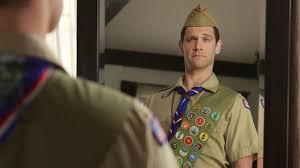 Boy Scout Flag Raising Ceremony Script Justin Bartha Goes Scouting For U0027normal U0027 Entertainment Tonight