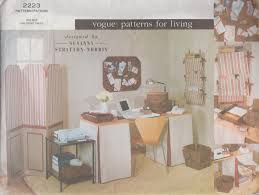 sewing patterns for home decor vogue 2223 home decor sewing pattern interior design