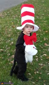 cat in the hat costume in the hat baby costume
