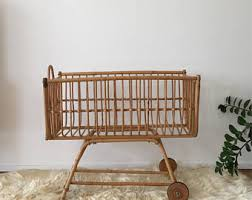 vintage kids u0027 cribs u0026 cradles etsy