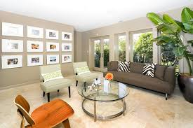 Family Wall Collages Family Room Contemporary With Container Plant - Family room photo gallery