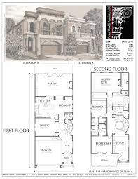 small house plans for narrow lots delightful home plans narrow home plans small narrow