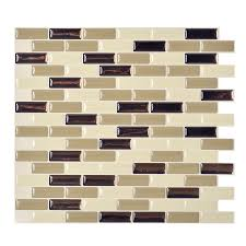 Smart Tiles Kitchen Backsplash Kitchen Metallic And Copper Smart Tiles Home Depot For Kitchen