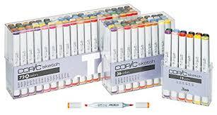 amazon com copic markers 36 piece sketch basic set