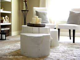 Tree Stump Nightstand Tree Stump Coffee Table Decor Hacks Thippo