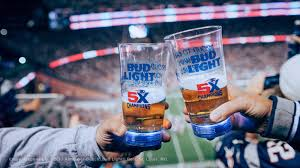 bud light touchdown glass app bud light on twitter when the patriots kicked off the 2017 nfl