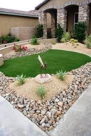 Front Yard Desert Landscape Mediterranean Exterior Low Maintenance Front Yard Desert Landscape Design With Rock