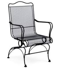 Motion Patio Chairs Windflower Mesh High Back Coil Spring Chair Patio Furniture