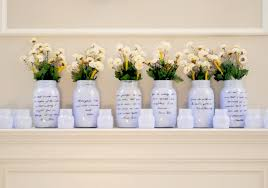 cheap wedding reception ideas cheap wedding centerpieces jars wedding party decoration