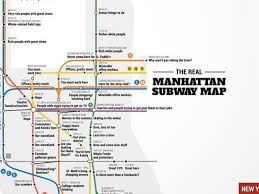 Second Ave Subway Map by Crude Subway Map Tells The Truth About Each Manhattan Stop Curbed Ny