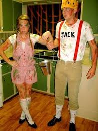 Halloween Costumes Couples Ideas Clever Jack Jill Costume Halloween Costumes Costumes Costume Works