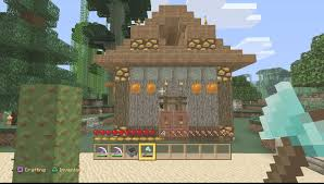 minecraft ps4 outdoor horse stable home design with jungle wood