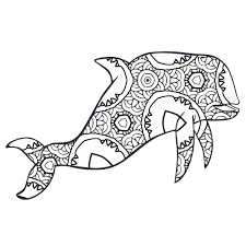 30 free coloring pages geometric animal coloring book