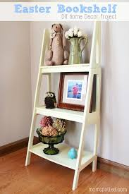 Diy Home Decorating Projects Spring Bookshelf Diy Home Decor Project With Ace Hardware