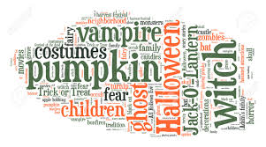 halloween word cloud stock photo picture and royalty free image