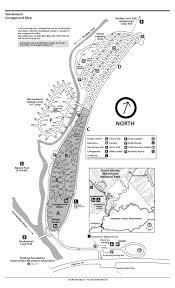 Smoky Mountain National Park Map Great Smoky Mountains National Park Smokemont Campground Map