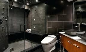 Black Modern Bathroom Modern Bathroom Showers Simpletask Club