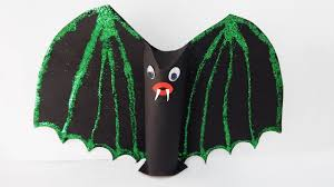 halloween decoration bat diy papercraft party table deco bat