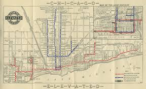 Trans America Trail Map by Keeping Everyone In The Loop 50 Years Of Chicago U201cl U201d Graphics
