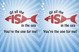 fish valentines printable s of all the fish in the sea makoodle