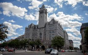 White House Renovation Trump by Donald Trump Luxury Hotel Opens Just Blocks From The White House