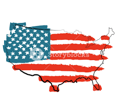 Cool Flags Cool Usa Map With Us Flag Royalty Free Stock Image Storyblocks