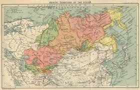 Ussr Map The Soviet Union Facts Descriptions Statistics U2014 Ch 1