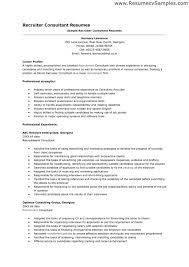 recruiting manager resume template recruiter resumes corporate