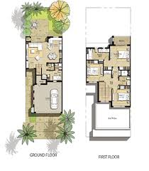 Town House Plans by Hayat Town Square Floor Plans By Nshama Dubai