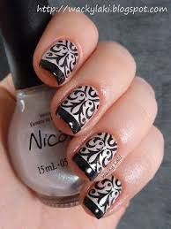 539 best monochrome nails images on pinterest make up pretty