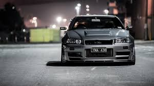 nissan skyline wallpaper for android silver nissan skyline gtr r34 wallpapers cool stuff pinterest