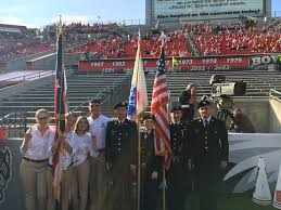 Flag Football Raleigh Nc 4 H Represented At Nc State Football Game Nc State Extension