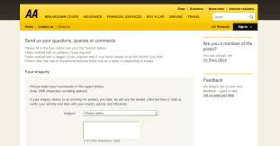 more information about aa car insurancet