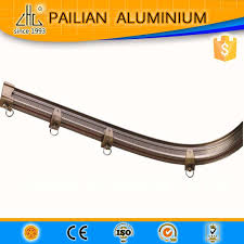 Curtain Track Curved Zhonglian Flexible Curved Shower Curtain Rail Curved Curtain Rod