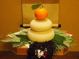 Japanese New Year Decorations Kagami Mochi by