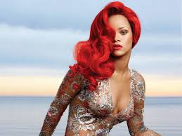 25 great photos of rihanna u0027s red hair u2013 strayhair