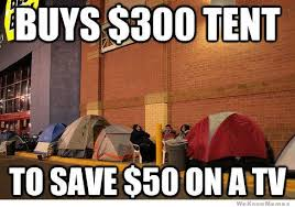 Black Friday Shopping Meme - black friday shopping no thanks