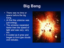 Space Debris Map Big Bang To Earth U0027s Formation Concept Map Ppt Video Online Download