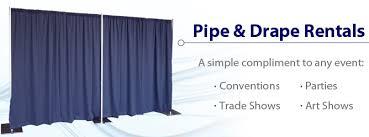 pipe and drape rental nyc pipe drape